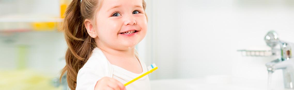 Чистка зубов у детей