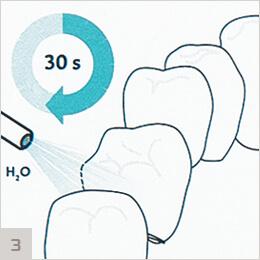 ICON - смывание геля и сушка